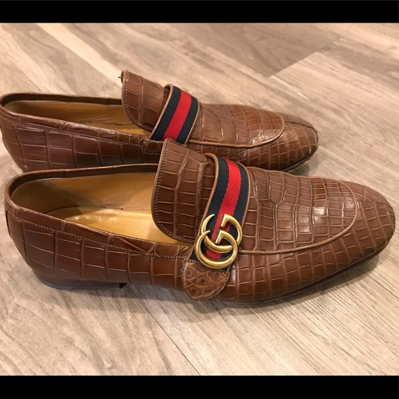 e451de19744 Gucci Other - Gucci Crocodile Loafers